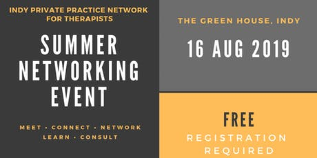 IPPN Summer Networking Event tickets