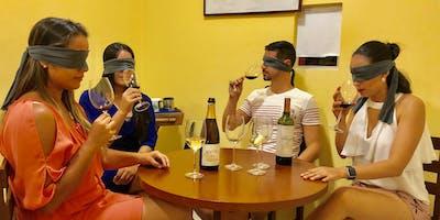 Degustação às cegas: A experiência sensorial
