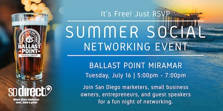 Summer Social Networking Event 2019 - SD Direct tickets