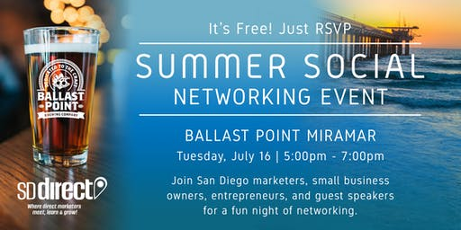Summer Social Networking Event 2019 - SD Direct