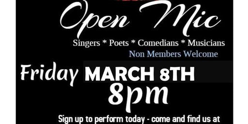 Open Mic Nights at The Hightown Club Luton