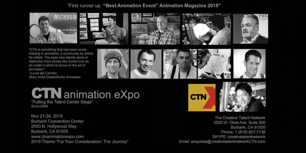 The CTN animation eXpo For Artists and By Artists - 4 Days