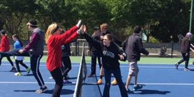 Volunteer at Abilities Tennis Clinics in Wake Fore