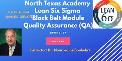 North Texas Academy Quality Assurance (QA) - Lean Six Sigma Black Belt Training & Certification  (Virtual Online Option too)