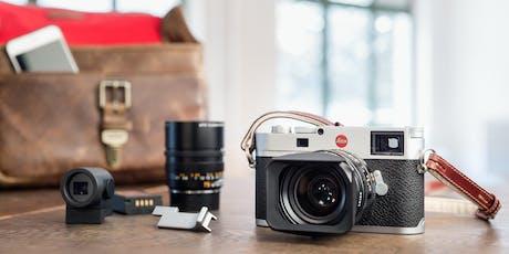 Fotografieren mit Leica M Tickets