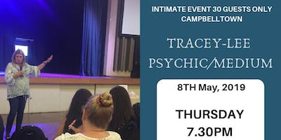 Tracey-lee Psychic/Medium Intimate Event 9th May, 2019