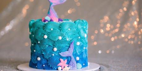 Mermaid Cake Class tickets