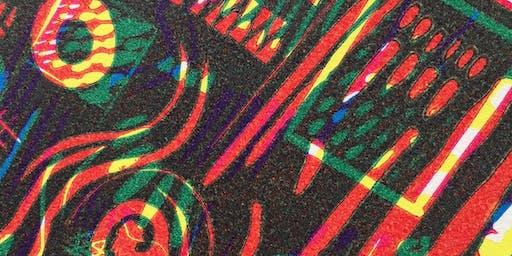 Colour Linocut workshop - weekend