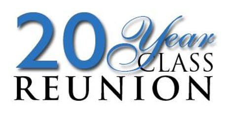 Deer Park High School class of 1999- 20 year reunion tickets
