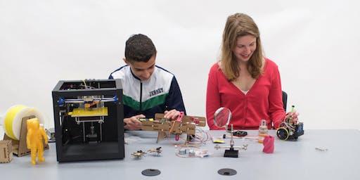 Zen Maker Lab Summer 2019 Camp – Week 4 Sampler - Science, Technology, Engineering, Art & Math (STEAM) - July 29 - Aug 2, 2019, Ages 8 to 12