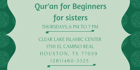 Qur'an for Beginners for Sisters tickets