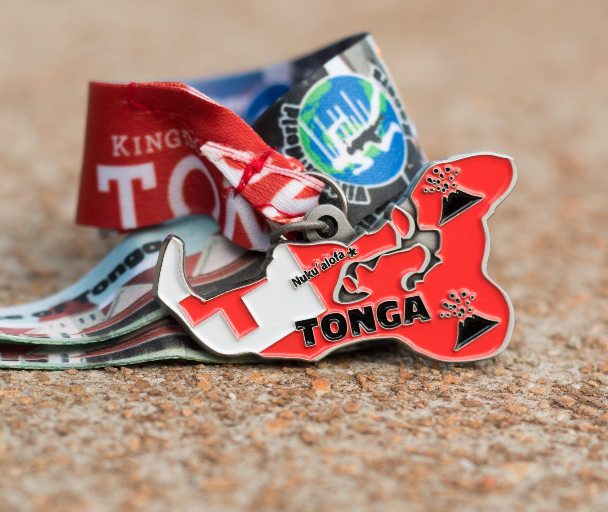 Now Only $10! Race Across Tonga 5K, 10K, 13.1, 26.2 - Las Vegas