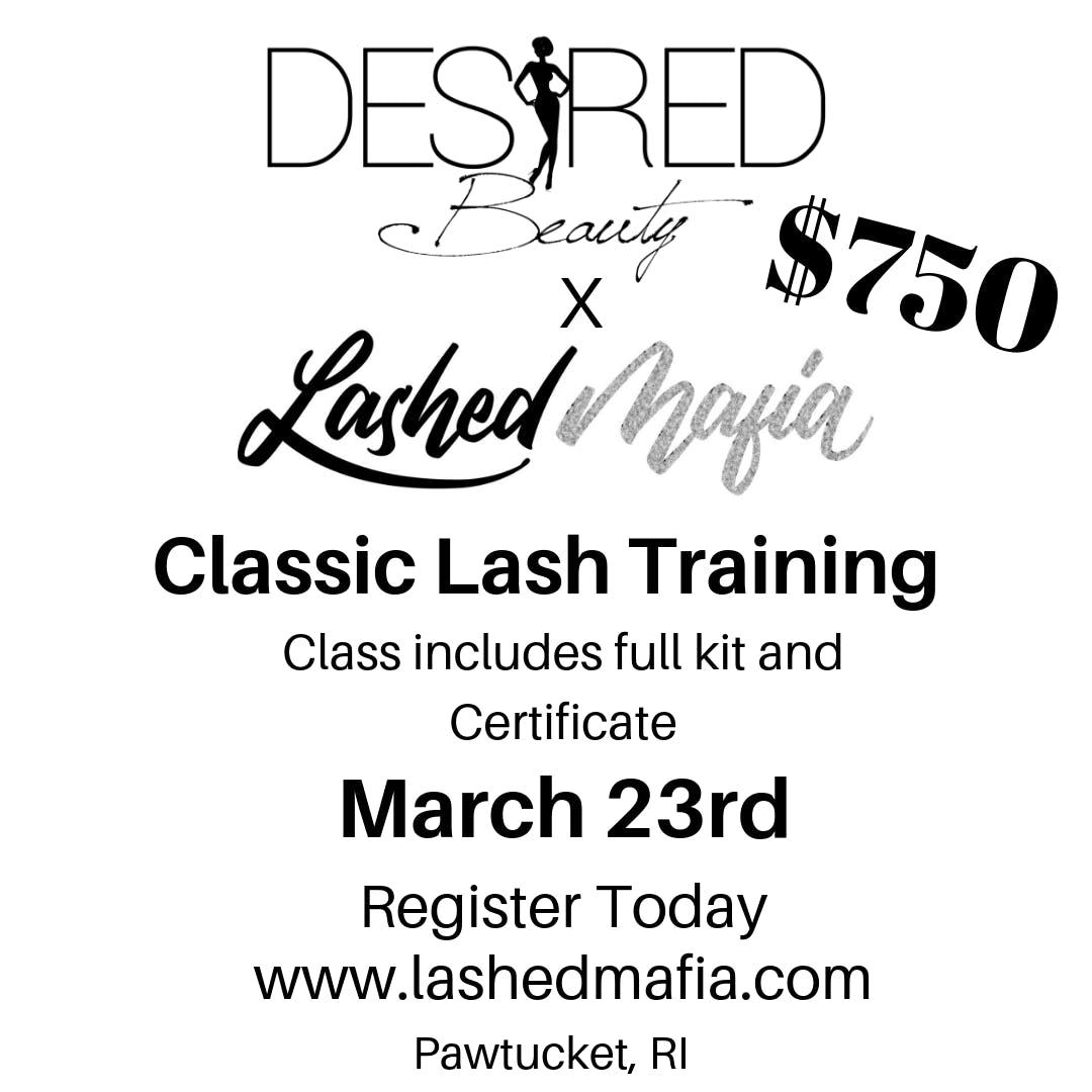 Lashed Mafia Classic Lash Training
