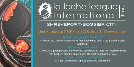 La Leche League Breastfeeding Support Meeting