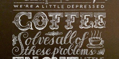 Art of Chalkboard Lettering - with Cora Pearl tickets