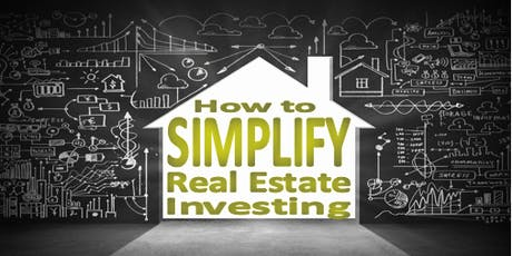 HOW TO SIMPLIFY REAL ESTATE INVESTING - NYC tickets