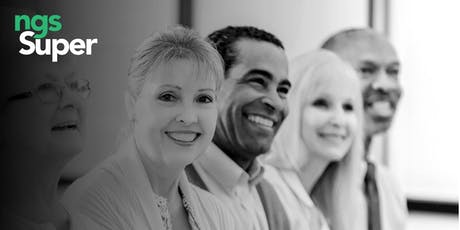 NGS Super Free Seminar - Planning for Retirement tickets