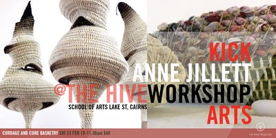 Sat 23 FEB | Creating Cordage and Core Basketry | Weaving Workshop with Anne Jillett