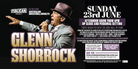 Glenn Shorrock LIVE at Publican, Mornington! tickets