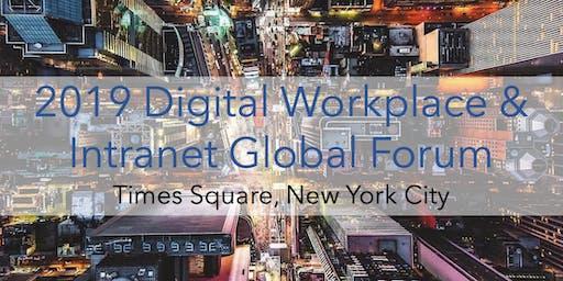 2019 Digital Workplace & Intranet Global Forum - New York City