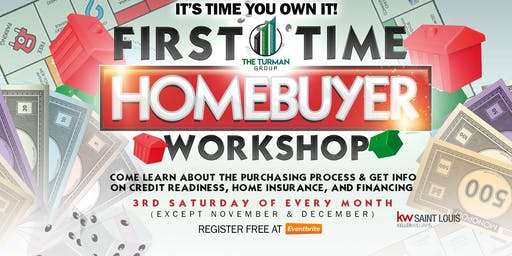 It's Time YOU Own It!-Homebuyer Workshop