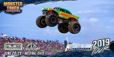Monster Truck Throwdown - Presented by Mileti Industries