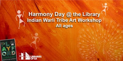 Harmony Day @ the Library: Indian Warli Tribe Art Workshop