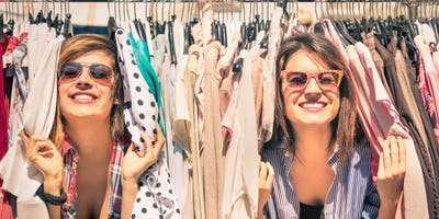 Recycled Wardrobe Op-shop Tour - the alternative to fast fashion - March 2019