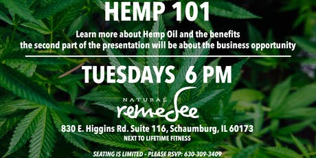 Schaumburg - Hemp 101 Presentation tickets