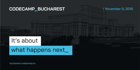 Codecamp Bucharest, 9 November 2019 tickets