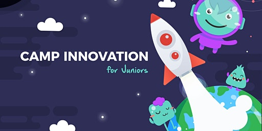 Innovation Junior Camp (6-9 years) | Mon-Fri, 10:00 AM-4:00 PM