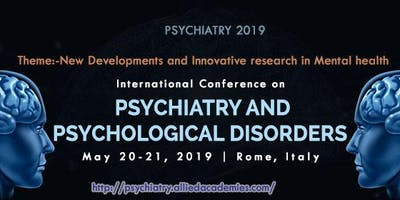 2ND International Conference on Psychiatry and Psychological Disorders