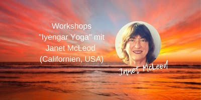 Iyengar Yoga Workshop Relaxing with Forward Bends mit Janet McLeod
