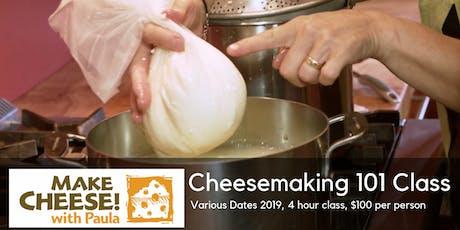 Cheesemaking 101 tickets