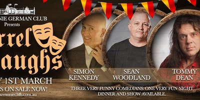 Barrel Of Laughs | Comedy Night ft. Simon Kennedy | Sean Woodland | Tommy Dean