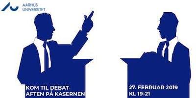 Debataften på Kasernen: Bliv klogere på dine folketingskandidater
