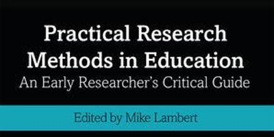 Practical Research Methods in Education: Book Launch