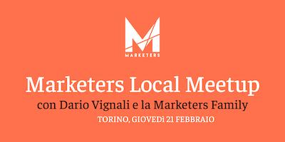 Marketers Meetup Torino | 21.02.19