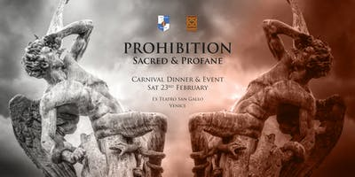 Prohibition ✠ Carnival Dinner & Event