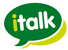 italk, your local talking therapy service. logo
