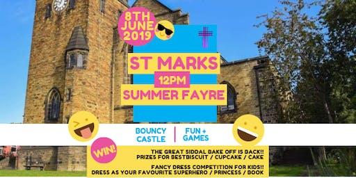 St Mark's Family Summer Fair!! Stall Bookings