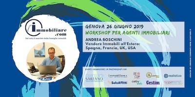 WORKSHOP | VENDERE IMMOBILI ALL'ESTERO: SPAGNA, FRANCIA, UK e USA