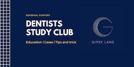 Gipsy Lane Study Club 2019 - Autumn tickets