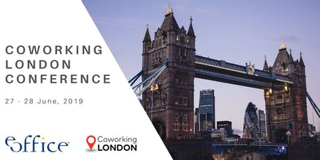 Coworking London Conference 2019 tickets