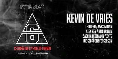6 Years of Format presents Kevin De Vries