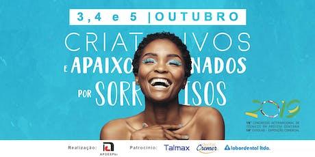 16° Congresso Internacional de Prótese Dentária - APDESPbr ingressos