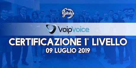 Corso di Certificazione Primo Livello VoipVoice Firenze tickets