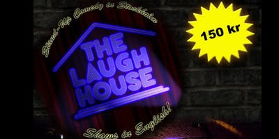 The Laugh House English Comedy March 9th