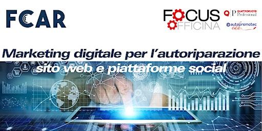 Marketing digitale per l'autoriparazione: sito web e piattaforme social