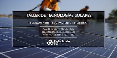 Taller de Tecnologías Solares // Mar del Plata Marzo 2019